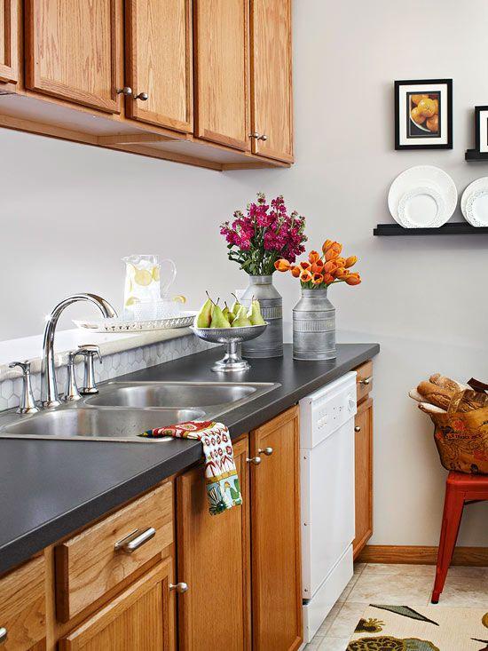 Bore Slate Countertops Designs Medium