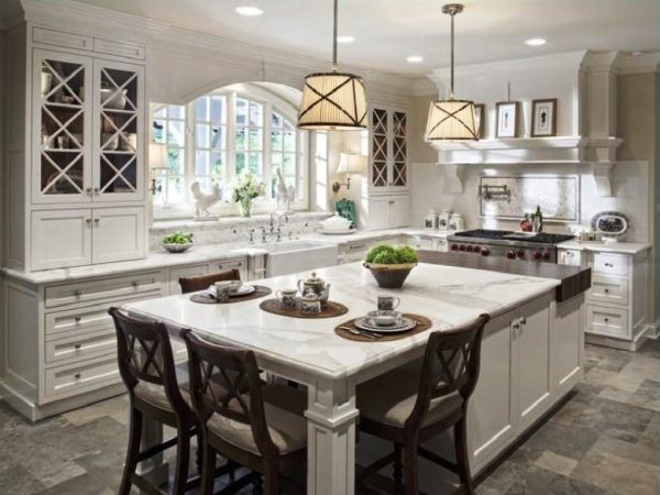 Building The Kitchen Island With Seating To Your Own House Medium