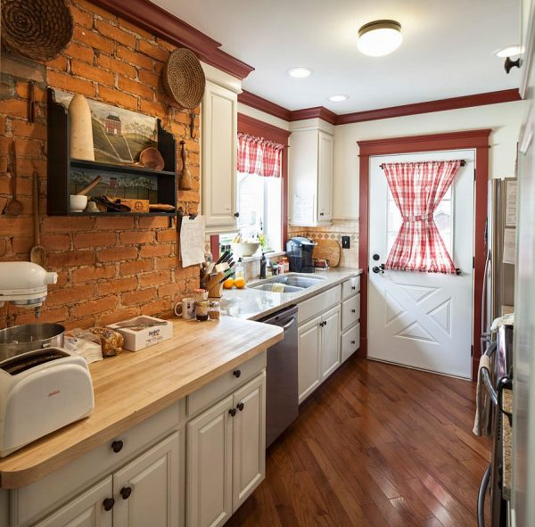 Collection 50 Trendy And Timeless Kitchens With Beautiful Brick Walls Medium