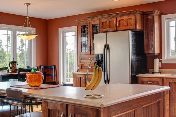Collection Perfect Kitchen Paint Ideas With Cherry Cabinets Medium