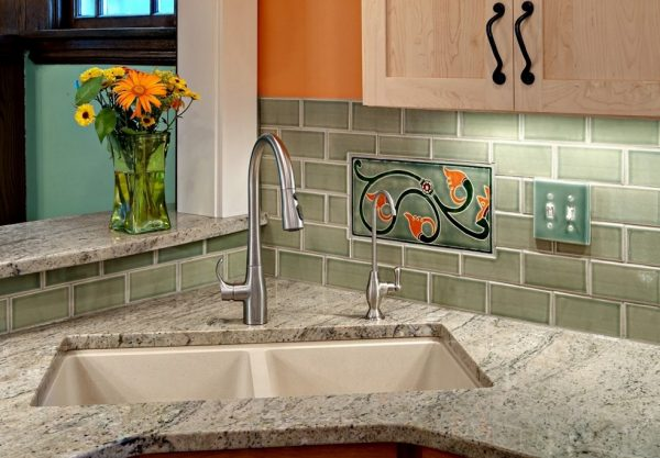 Corner Sink Kitchen With Attractive Layout To Tweak Your Medium