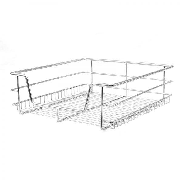 Creative 3 Pull Out Kitchen Wire Baskets Slide Out Storage Cupboard Medium