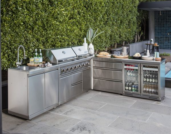 Creative Stainless Steel Outdoor Kitchensgraysonline Medium