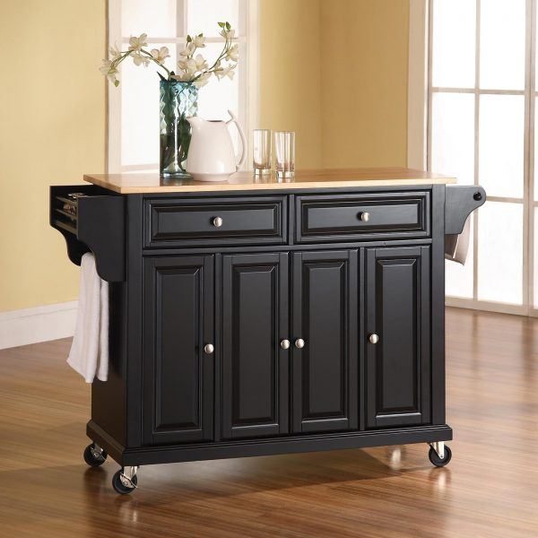 Crosley Furniture Kitchen Island Cart ATG Stores Medium