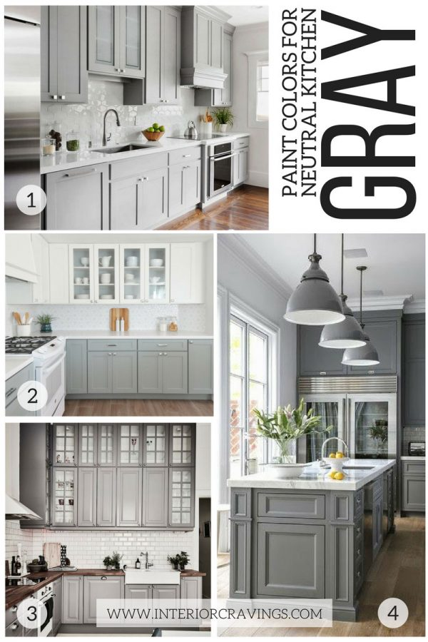 Example Of A 24 Modern Neutral Paint Colors For Your Kitchen Remodel Medium