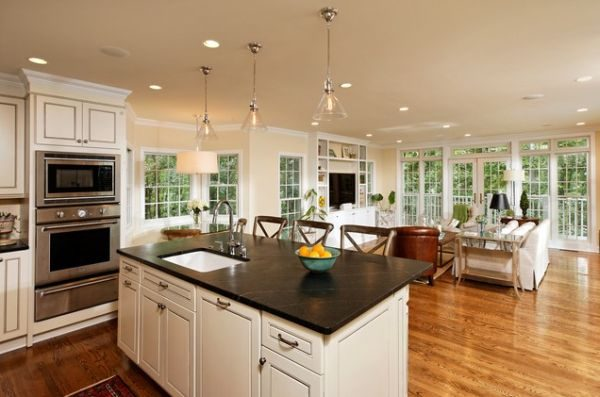 Get Five Beautiful Open Kitchen Interior Designs Medium