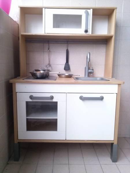 IKEA Duktig Wooden Minikitchen With Top Singapore Medium