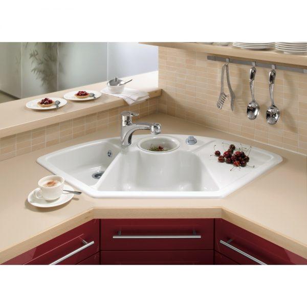 Ikea Kitchen Sinks Stylish Bowl White Ceramic Corner Medium