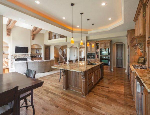 Inspiration 25 Open Concept Kitchen Designs That Really Work Medium