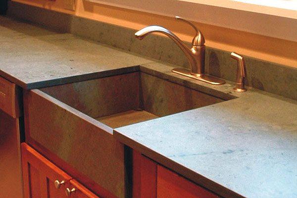 Inspiration Slate Table Tops Slate Countertops And Sinksgarden Medium