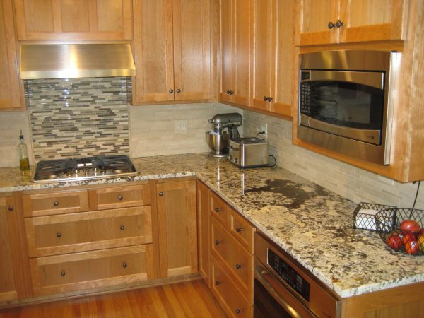 Inspirational Backsplash Ideas For Granite Countertops White Marble Medium