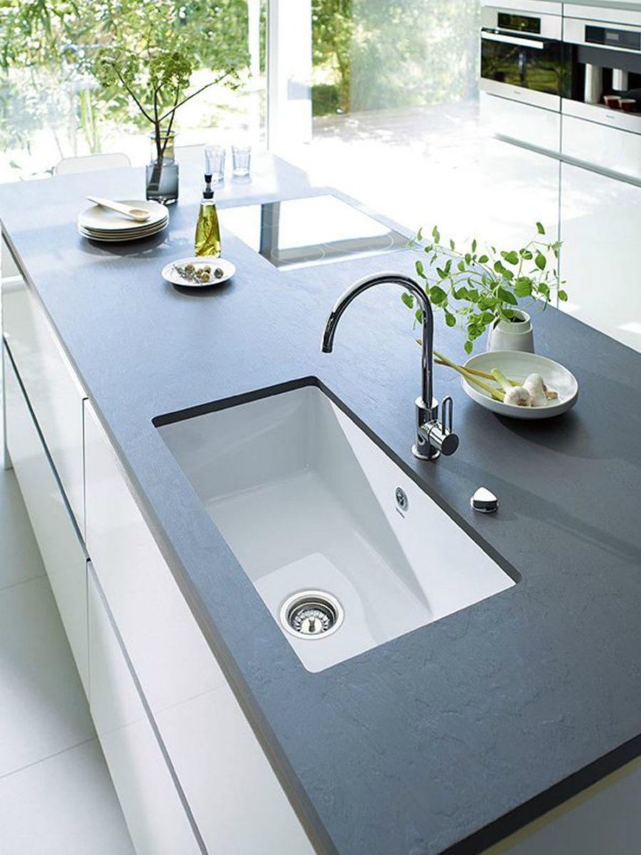 inspirational slate countertops for your kitchen and bathroom