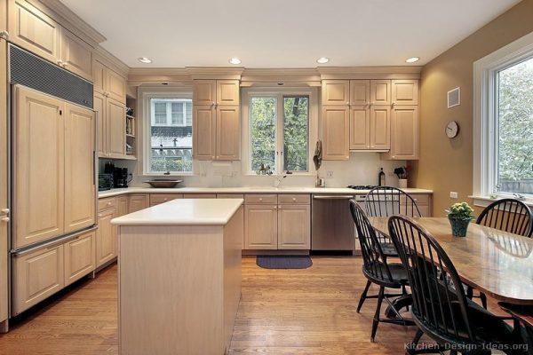 Inspirational Whitewash Kitchen Cabinets  Roselawnlutheran Medium