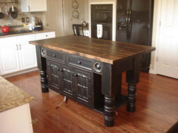 Kitchen Reclaimed Wood Kitchen Island Kitchen Carts And Design Medium
