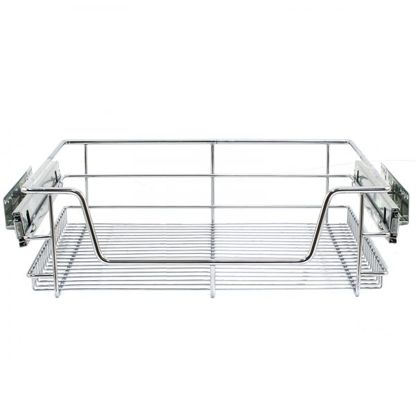 looking 6 pull out kitchen wire baskets slide out storage cupboard medium