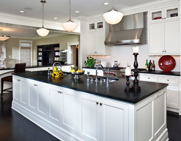looking beautiful slate kitchen countertops