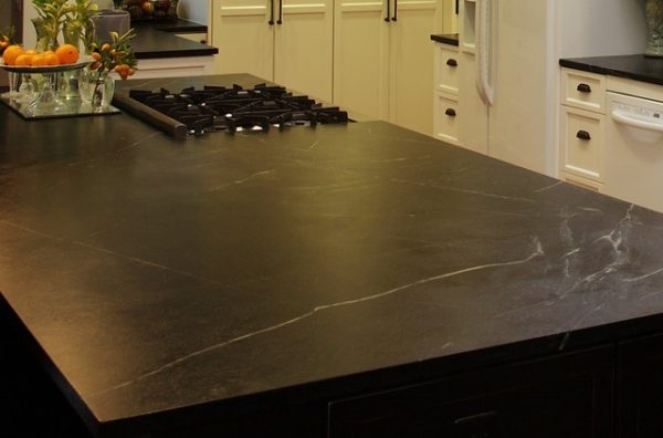 Looking Soapstone Countertops Arden Park Ca Traditional Medium