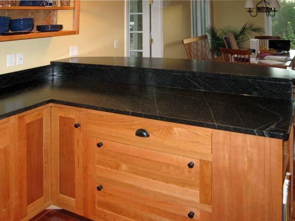 Looking Soapstone Kitchen Countertops Traditional Kitchen Medium