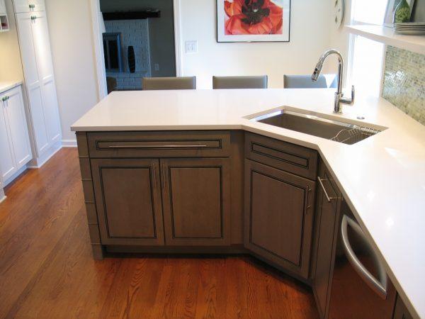 Peninsula Kitchen Layoutbest Layout Room Medium