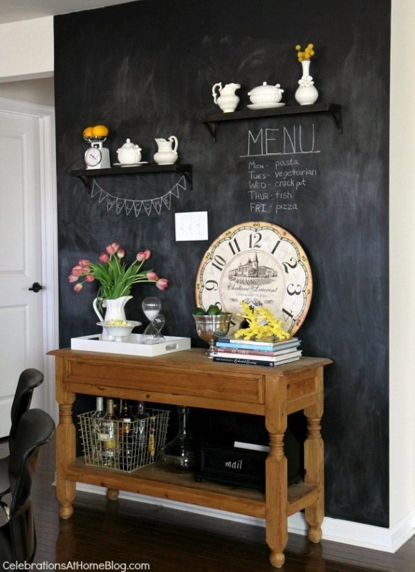 perfect kitchen chalkboard wall ideas eva ennis creative medium