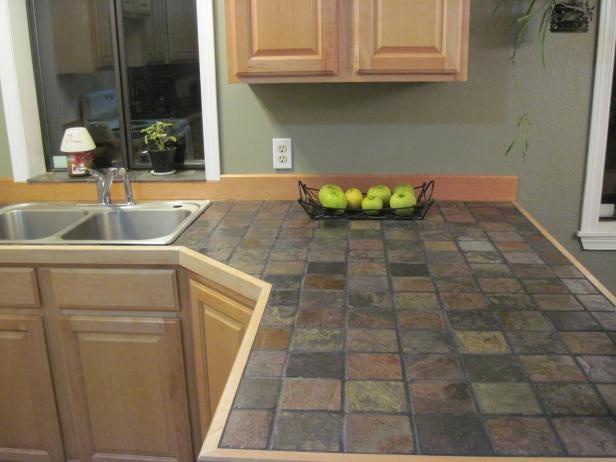 popular slate kitchen countertops