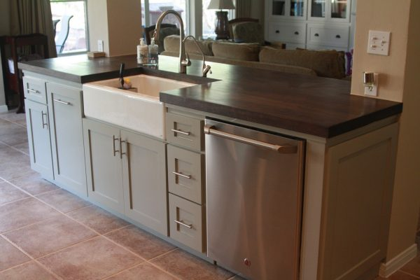 The Possibilities Of Storage Under Kitchen Islands With Medium