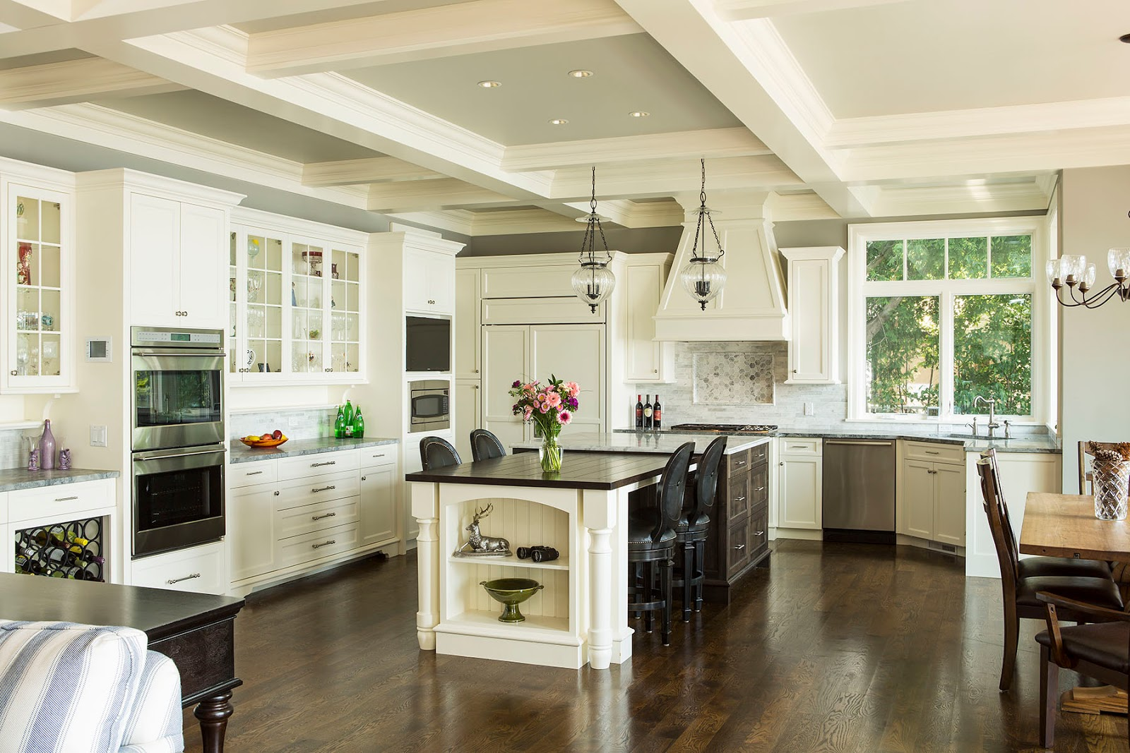 top open kitchen design ideas with living and dining room