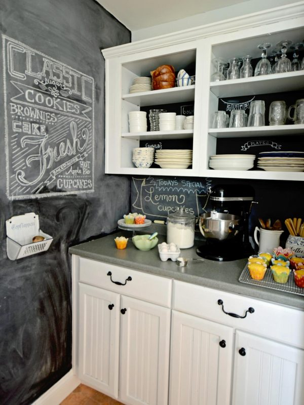 We Share How To Create A Chalkboard Kitchen Backsplashhgtv Medium