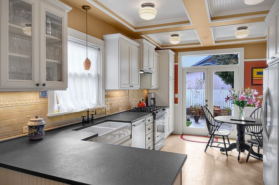we share slate countertops for your kitchen and bathroom