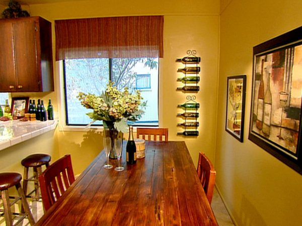 WineThemed Kitchen Pours On The Charm HGTV Medium
