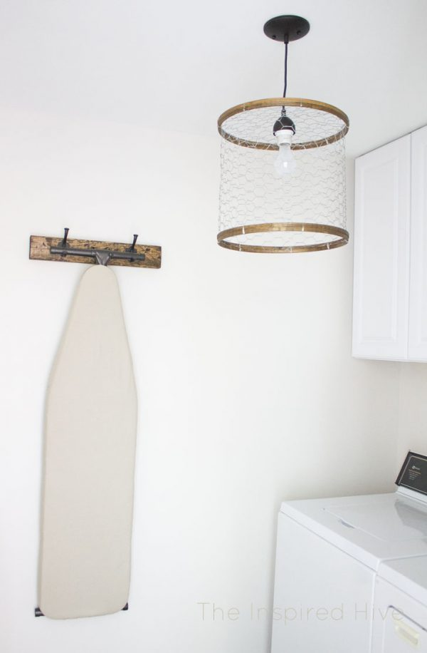 Clever Diy Chicken Wire Light Fixturethe Inspired Hive Medium