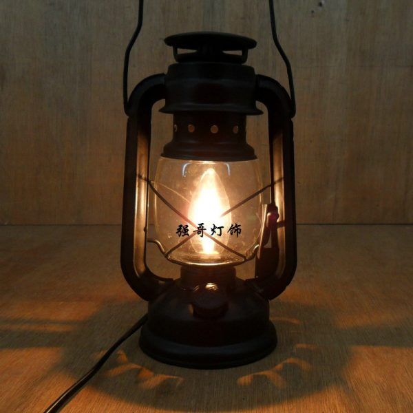 Inspirational Fashion Vintage Wrought Iron Lantern Brief Rustic Bedroom Medium