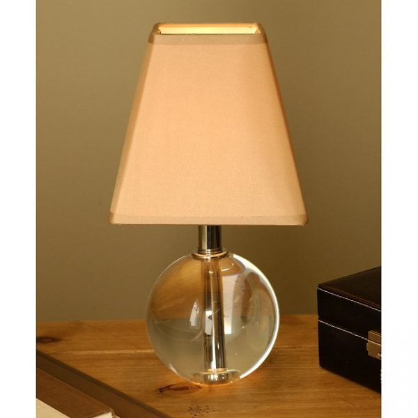 We Share Petite Sphere Crystal Table Lamp Free Shipping Today Medium