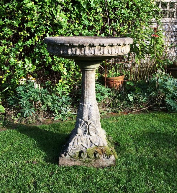 Best Large Decorative Bird Bath In From The Vintage Garden Company Medium
