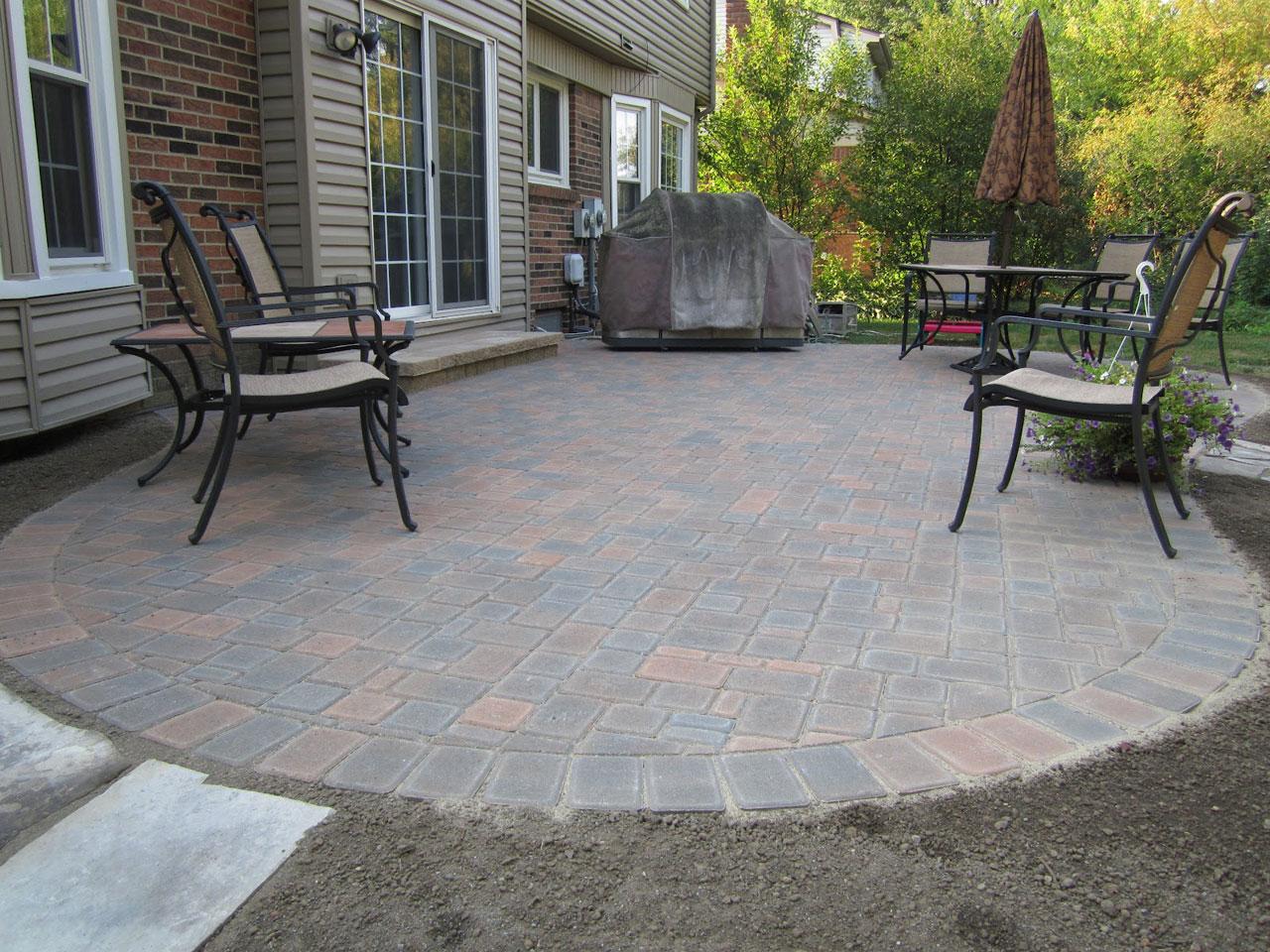 best paver patio ideas for enchanting backyard amaza design