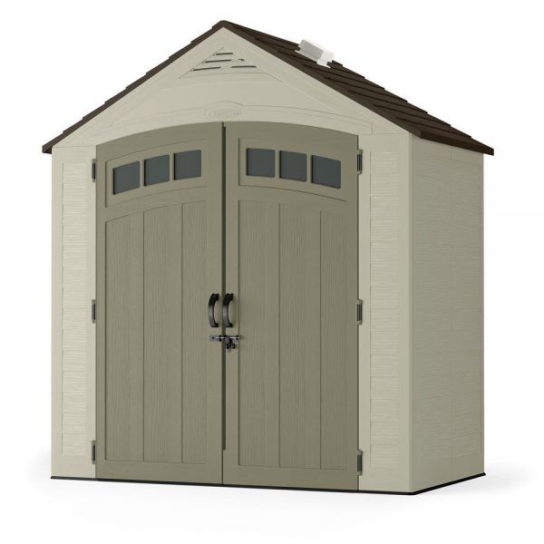 Best Suncast Vista 7 Ft 4 In X 4 Ft 1 In Resin Storage Shed Medium
