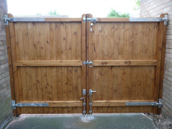 Best Wood Driveway Gates  Outdoor Decorations Medium