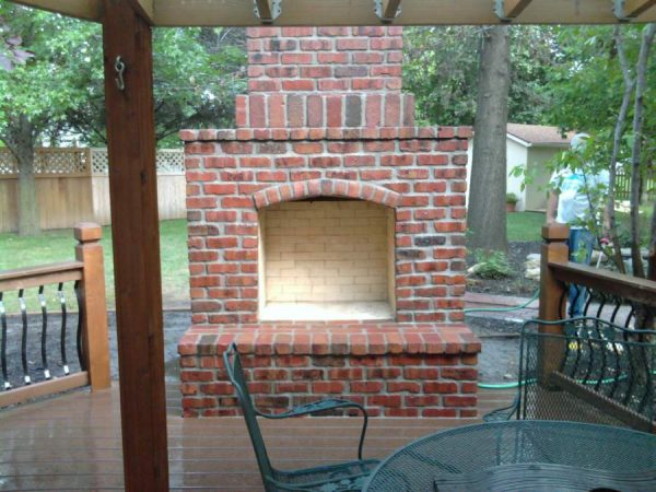 Bore Brick Outdoor Fireplacefireplace Design Ideas Medium