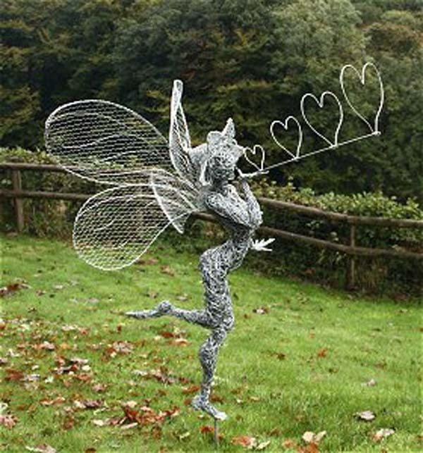 Bore Fantasy Wire Creates Incredible Fairy Wire Sculptures For Medium