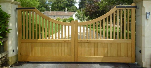 Bore Majestic Driveway Gate Designs Wood For Exterior Beauty Medium