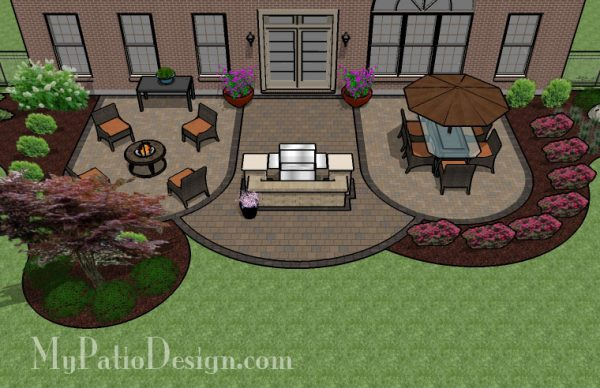 Bore Patio Excellent Patio Design Plans Design My Own Patio Medium