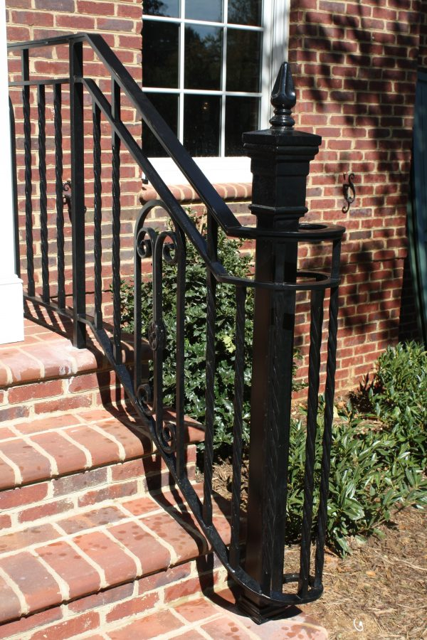 Bore Wrought Iron Railings For Porch Stairs Medium