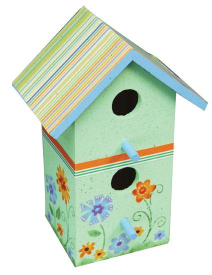Browse Floral Birdhouse Home Decorfavecraftscom Medium