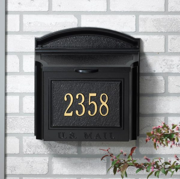 Browse Whitehall Wall Mount Locking Mailboxes Medium