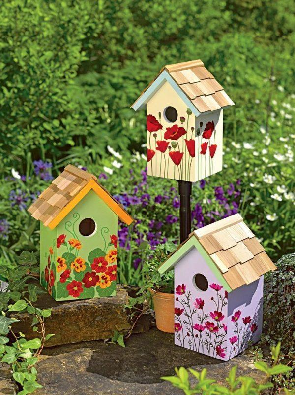Clever Birdhouse Decorating Ideashome Decor Medium
