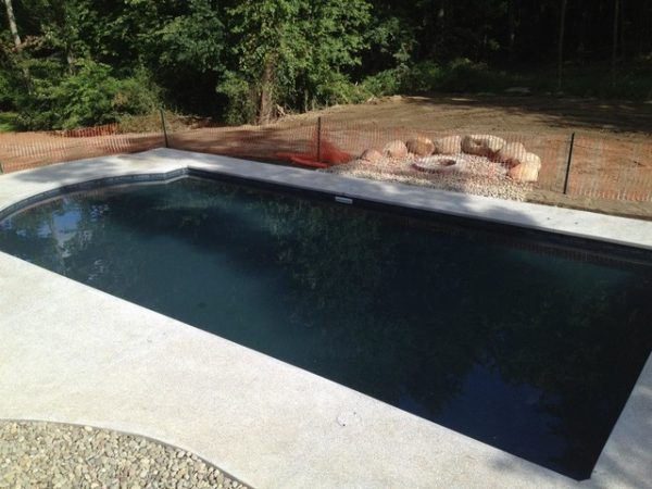 Clever Black Liner Pool Merrimac Massachusetts Medium