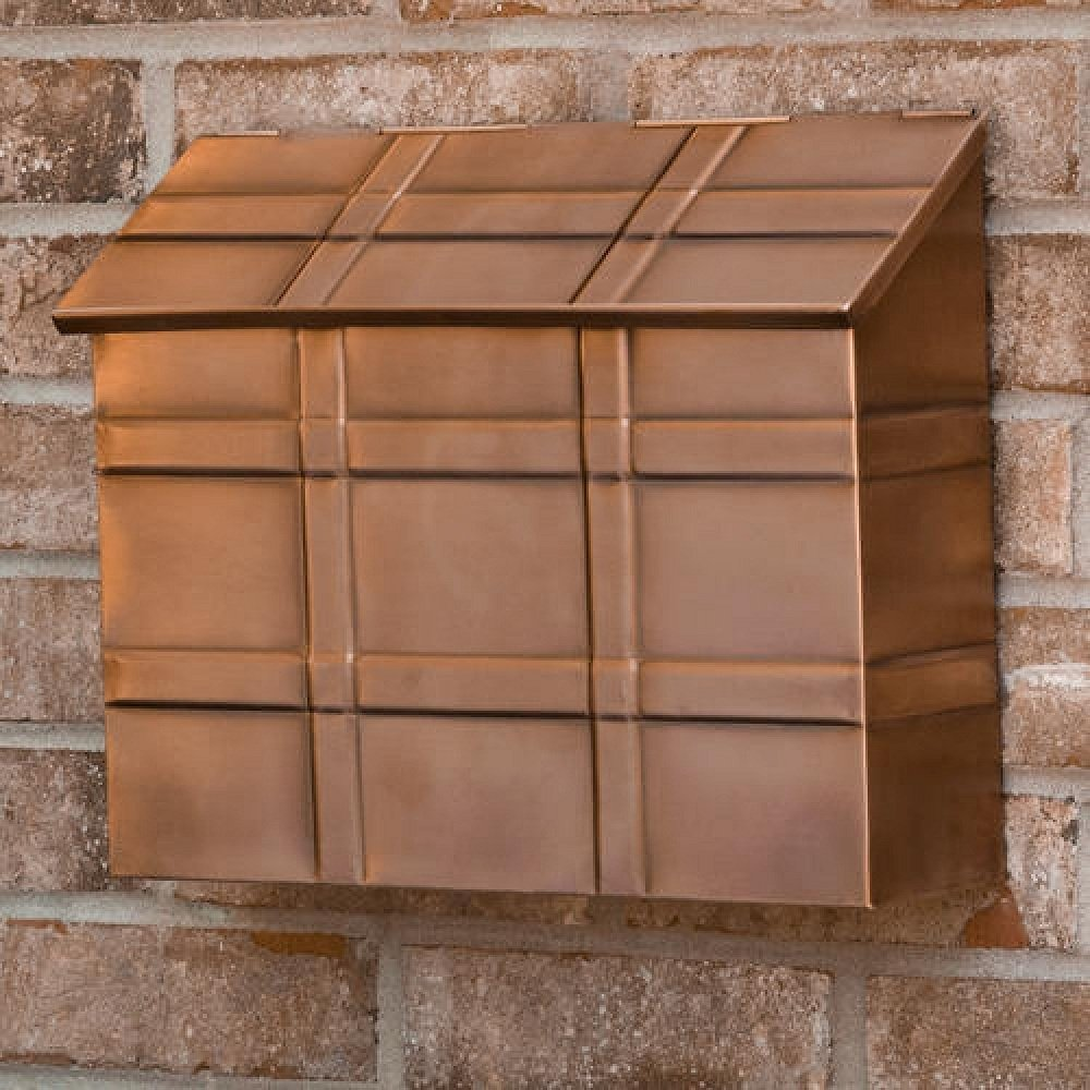 clever wall mount residential mailboxes  the decoras jchansdesigns