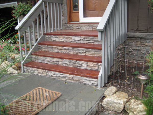 Collection Faux Panel Stone For Easy Step Makeover By Regency