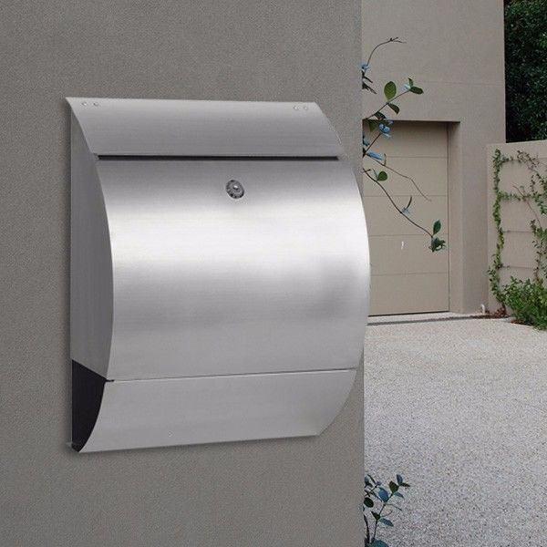 collection milkcan wall mount letterbox wb53 304 stainless mailbox