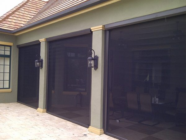 Collection Motorized Hurricane   Security Protection Shutters Medium
